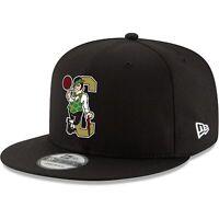 Boston Celtics New Era Back Half 9FIFTY Adjustable Hat - Black
