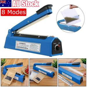 Impulse Heat Sealer Poly Bag Electric Plastic Sealing Machine Manual Shrink Wrap