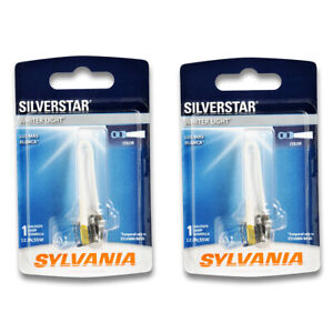 Sylvania SilverStar Front for BMW 745i X5 318is 325e 325iX 325i 325es M3 325 ee