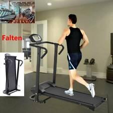 Mechanisches Laufband mit LCD-Display Fitnessgerät Klappbar Heimtrainer Jogging