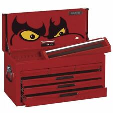 Teng Tools 6 Drawer, 8 Series Top Box with Ball Bearing Slides in Red TC806NF