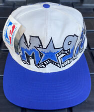 NWT Vintage 90s Orlando Magic Drew Pearson Graffiti Snapback Hat Cap NBA
