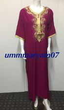 Moroccan Kaftan Caftan Maxi Dress Embroidery Arabian Farasha