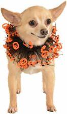 Rubie's Jack-O-Lantern Black and Orange Fancy Pet Collar, M/L