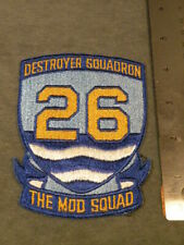 US Navy Patch, USN Destroyer Squadron 26