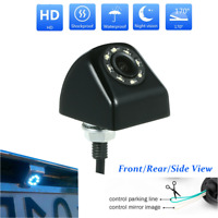 170° CCD Car Rear View Backup Camera Reverse 8 LED Night Vision Waterproof NEW