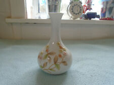 Beautiful Chinese High Relief Floral Bud Vase