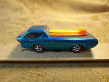 Original Red Lines Hot Wheels Deora Aqua w/ Surf Boards - Free S&H USA