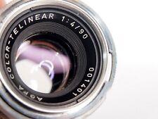 Vintage Camera Lens - Agfa Color Telinear 1:4 90mm Lens