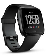 New Fitbit - FB505GMBK - Versa    SmartWatch Black