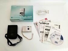 Canon PowerShot Digital ELPH SD1000 7.1MP Digital Camera - Silver