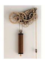 Abong Mechanical Wooden Clock Kit NEW, Free Shipping
