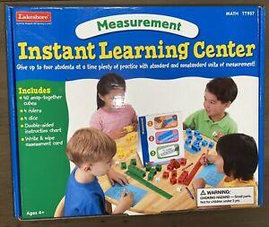 Lakeshore Measurement Instant Learning Center Homeschool Math TT957 New Open Box