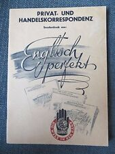 ENGLISCH PERFEKT ~ 1946 ~ GERMAN TO ENGLISH TRANSLATOR ~ EUC ~ FREE SHIPPING!