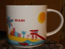 Starbucks You Are Here Collection Miami Coffee Mug Cup