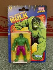 """Marvel Legends 3.75"""" Retro Collection The Incredible Hulk Toy Comic Figure"""
