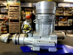 """Super Tigre .61 R/C Airplane Glow Engine, ITALY, """"Nicely Used"""" Clean w/Muffler"""