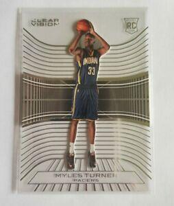 NBA 15-16 Panini Clear Vision Myles Turner Rookie RC Card 🔥