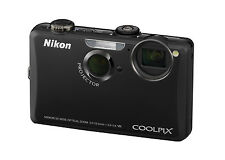 NIKON Coolpix S1100pj 14.1 MP Camera - Black