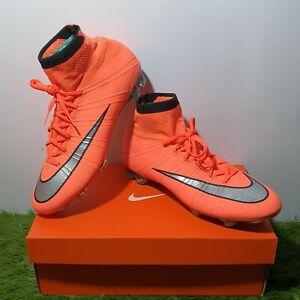 Nike Mercurial Superfly IV FG Elite 641858-803 Rare Limited Vapor Mango Orange