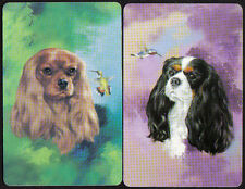 Puppy Dog My Furry Pet SINGLE Swap Playing Cards PAIR #16