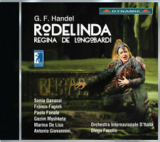 G.F. Handel / Sonia Ganassi / Diego Fasolis - Handel: Rodelinda [New CD]