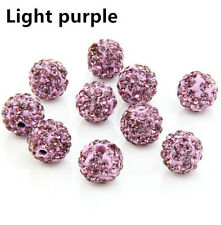 Clay Crystal Disco Ball beads Diy Fashion jewelry making 8mm 10mm 12mm