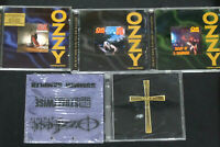 Ozzy Osbourne CD Box lot Diary a Madman/Blizzard of Oz/Bark at Moon/Album Set