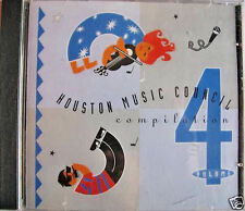 Houston Music Council Compilation IV Music CD, with All Artwork in Jewel Case