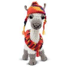 Lulu LlAMA Knitty Critters Complete Crochet Kit 320g Soft Bernat Blanket Yarn