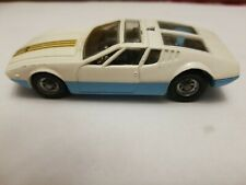 VTG. Corgi Toys 271 De Tomaso Mangusta with removable Chassis 1/43 scale EXC