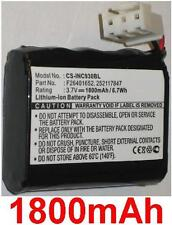 Batterie 1800mAh type F26401652, 252117847 Pour Sagem Monetel F26401963