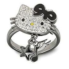 Swarovski Hello Kitty Rock Ring size 55 NIB #1145275