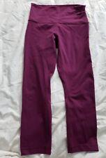 Lululemon Sz 6 leggins Yoga purple crop