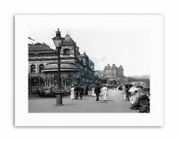 SCARBOROUGH THE SPA YORKSHIRE ENGLAND OLD BW Canvas art Prints