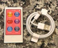 Brand New Apple iPod Nano 7th Generation 16GB Silver - FREE SHIPPING!