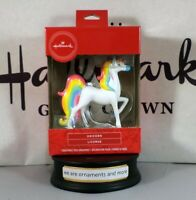 2019 Hallmark Unicorn Christmas Tree Ornament New