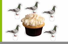 Pegin Bird Sport X24 Edible Stand up Cup Cake Toppers Wafer Paper Pre-cut