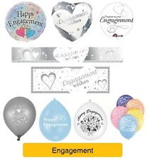 Happy Engagement - ENGAGEMENT WISHES - Party Banners, Balloons, Decorations