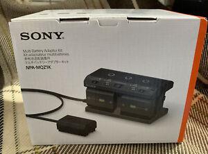 Ladegerät Sony NPA-MQZ1K Mehrfach Akku Adaptersatz