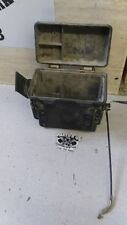 1996 Kawasaki Prairie 300 Storage box. With Cables and Latches