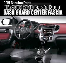 OEM Parts Dash Board Center Fascia Glossy Black Fit KIA 2009-2010 Cerato Koup