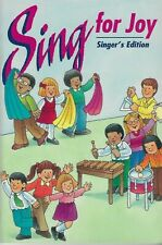 SING FOR JOY Singer's Edition Softcover Song Book NEW