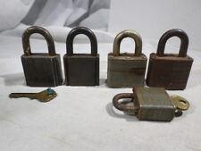 Brass Ilco Master Lock Masterlock Padlocks Lot