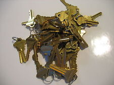 50 PIECES (25 PAIR) NEW SCHLAGE PRECUT KEYS LOCKSMITH 25 SETS OF 2  SC-1 5 PIN