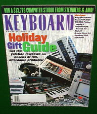 Korg microKorg, Roland XV-2020 MC-09, AKAI Z8 Reviews in 2002 KEYBOARD Magazine