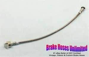 STAINLESS REAR BRAKE HOSE Mercury Comet 1966 - Except Station Wagon