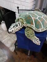 Melissa and Doug Plush Gigantic Sea Life Like Turtle Stuffed Animal Toy
