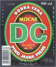Poland Brewery Pokrówka DC Beer Label Bieretikett Etiqueta Cerveza pk4.4