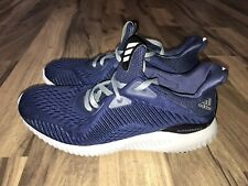 Adidas Men's Alpha 3 Bounce Navy Blue Athletic Shoes Size 8.5